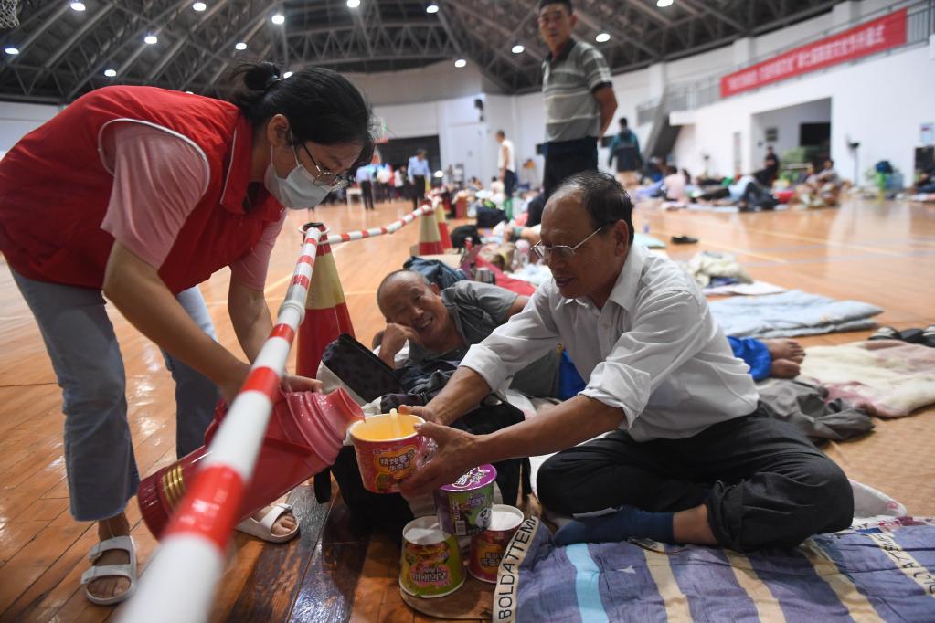 中 저장성 저우산 태풍 '찬투' 대비에 만전