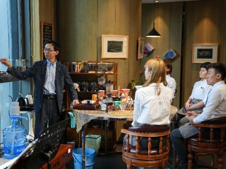 中 창춘에 퍼지고 있는 한국의 커피향