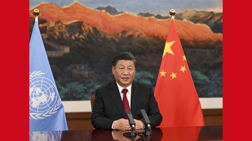 시진핑 주석 제15차 '생물다양성협약' 당사국 총회 정상회의 참석